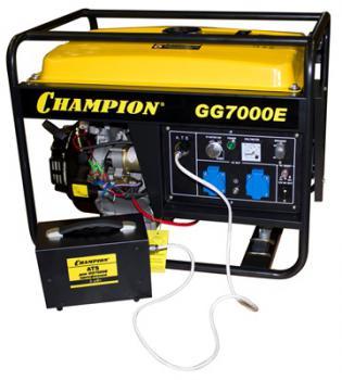 GG 7000 E + ATS+ газоотвод