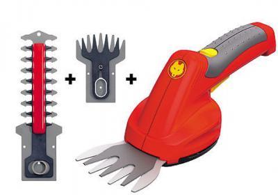 Finesse Set 3 в 1 Аккумуляторный набор ножниц для газона и живой изгороди арт.7269000